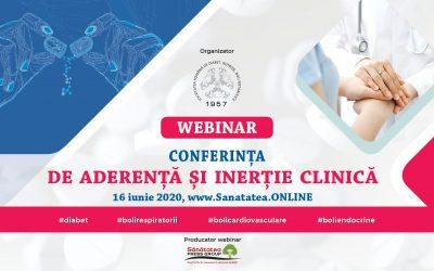 WEBINAR: Conferința de Aderență și Inerție Clinică