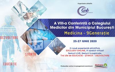 A VIII-a Conferință a Colegiului Medicilor din Municipiul București