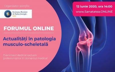 FORUM: Actualitati in patologia musculo-scheletala