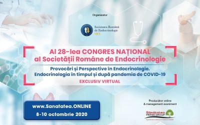 08-10.10.2020 | WEBINAR al 28-lea Congres Național al Societății Române de Endocrinologie