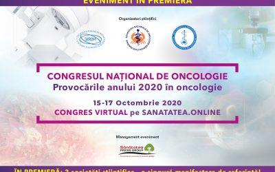15-17.10.2020 | WEBINAR Congresul Național de Oncologie
