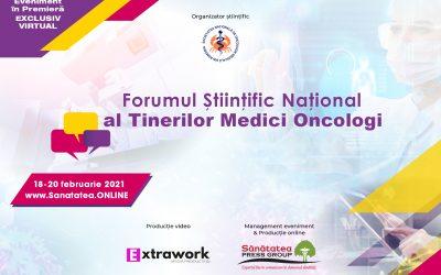 18-20.02.2021   Forumul Științific Național al Tinerilor Medici Oncologi