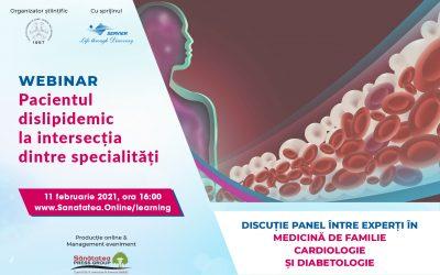 11.02.2021 | Pacientul dislipidemic la intersecția dintre specialități