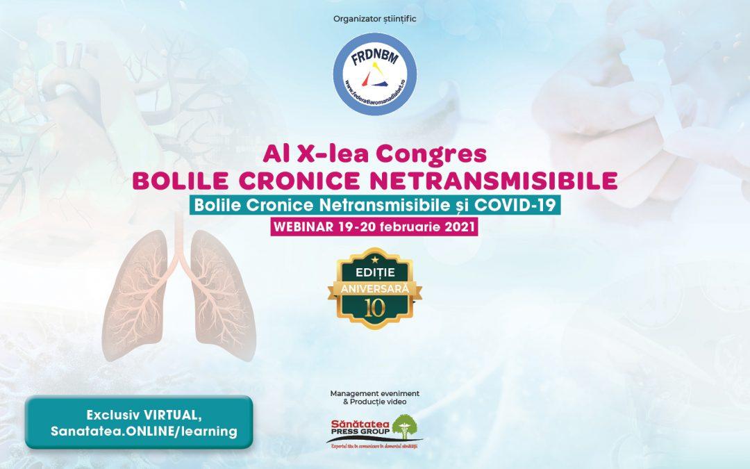19-20.02.2021 | Al X-lea Congres Bolile Cronice Netransmisibile