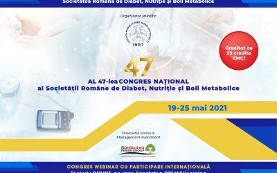 19-25.05.2021 | Al 47-lea Congres Național al SRDNBM