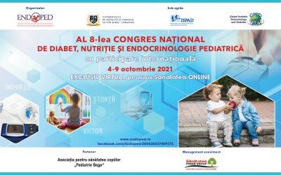 04-09.10.2021   WEBINAR al 8-lea Congres Național de Diabet, Nutriție și Endocrinologie Pediatrică – cu participare internațională