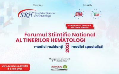 02-03.07.2021   Forumul Științific Național al Tinerilor Hematologi